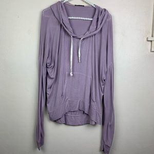 Brandy Melville Lilac Purple Hoodie Sweater OS